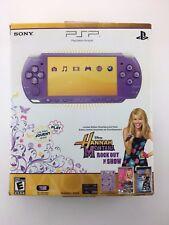 SONY PSP 3000 Console Limited Lilac Purple  / Hannah Montana / US / Boite