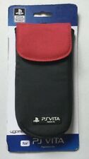 Playstation PS Vita 4 Gamers Console Sleeve Carry Case Protector Red/ Black NEW