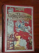 ROBIDA - MUSAEUS - Contes populaires cartonnage