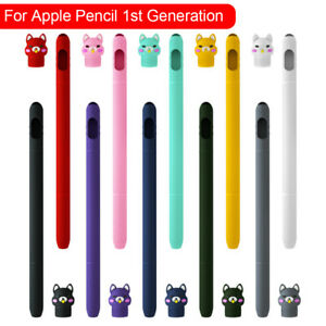 For Apple Pencil 1st Generation Soft Silicone Pen Protective Case Cover Skin