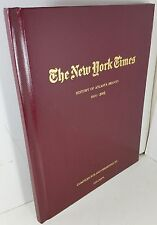 The New York Times History of Atlanta Braves 1914 - 2002, Compiled for Grandpa