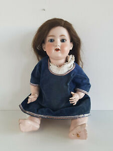 Große Porzellankopf-Puppe um 1920 Armand Marseille 390 Germany A.12.M ca. 60 cm