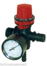 Rapid Spray Quick Attach Regulator & Gauge 5900/7900 Delavan 12 volt pump models