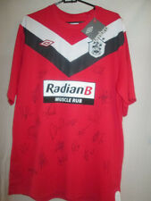 Huddersfield Town 2011-2012 Squad Signed Away Football Shirt with COA /21252