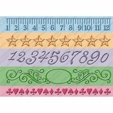"Cuttlebug 7"" Embossing Borders - Measure by Measure"