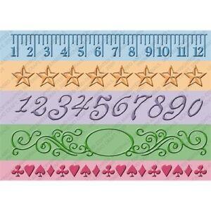 """Cuttlebug 7"""" Embossing Borders - Measure by Measure"""