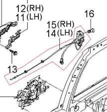 KIA SEDONA 2006-2014 LEFT REAR DOOR LATCH ASSEMBLY 81410 4D010 FOR POWER DOORS