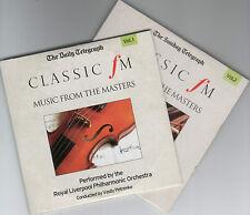 CLASSIC FM: MUSIC FROM THE MASTERS / RPO / VASILY PETRENKO - PROMO 2 CD SET