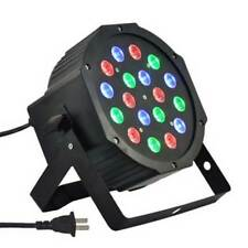 8Pack 54W RGB DMX Stage Lighting LED Par DJ Party Projector Light + IR Remote