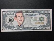 Kevin Costner $1 Million Dollar Note Novedad Bill $1,000,000 el protector del cuerpo uno