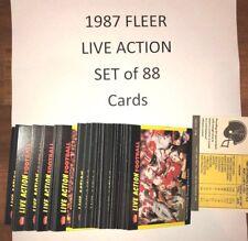1987 Fleer NFL Football set w/WALTER PAYTON, ELWAY, MONTANA, BRADSHAW, STAUBACH