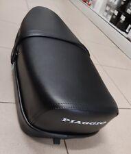 Sella Vespa 125 ET3 biposto pelle nero tipo originale Piaggio