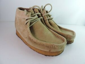 Chippewa Men's Suede Crepe Sole Chukka Shoes Ankle Boots Size 9 Vintage