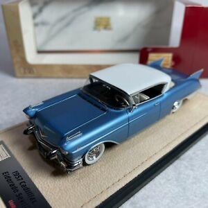 1/43 GLM Stamp Cadillac Elodorado Sevile 1957 Bahama Blue Metallic STM57002
