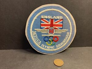 Mecca Olympic Birmingham England Roller Skating Rink Patch
