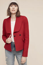 NWT Anthropologie Fleet Jacket, by Cartonnier - Red, size 12