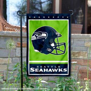 Seattle Seahawks Garden Flag and Yard Banner
