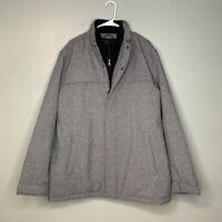 NWOT Dockers Men's Jacket Size 2XL XXL Full Zip & Snap Double Insulated Dress
