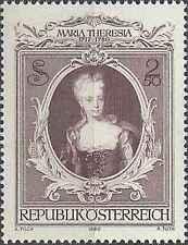 Timbre Personnages Autriche 1467 ** lot 15736
