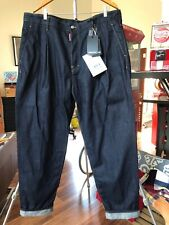 Dsquared2 Jeans Big Brother Style with Buttons Size 42 x 34 Made in Italy