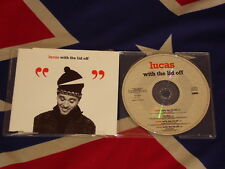 LUCAS - with the lid off  4 trk MAXI CD 1994