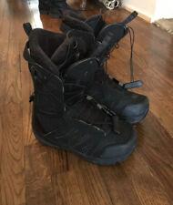 Salomon hifi snowboard boots. size 9.5 in excellent condition