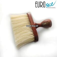 Professional wood neck brush EuroStil hairdressing barber 00306
