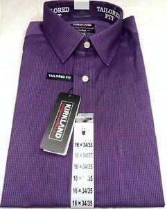 NWT! Kirkland Signature Tailored Fit Dress Shirt  Non-Iron S38