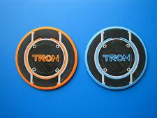 Tron Legacy Identity Disc coasters, plaques, orange Rinzler