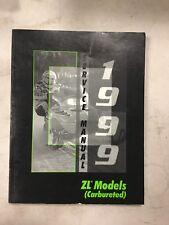 1999 Arctic Cat Snowmobile Service Manual Zl Models Carbureted