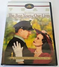 The Best Years of Our Lives (Dvd, 2006) New/Sealed Rare Us Version Myrna Loy
