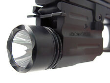Tactical 300Lm Cree Flashlight/lights fit for Pistol/Glock Weaver/Picatinny Rail