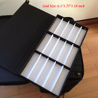 180 Slot Optical Glasses Case Pull Rod Box Eyeglasses Display Organizer
