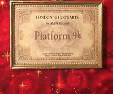 Harry Potter Hogwarts Express Ticket Refrigerator Locker Magnet Custom Handmade