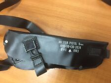 9MM Pistol Shoulder Holster. Dated 1983 New Old Stock condition PVC NI ISSUE