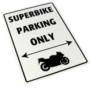 Bike-It Parking Sign <Superbike Parking Only>