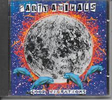 PARTY ANIMALS - Good Vibrations CD Album 20TR Happy Hardcore Gabber 1996 MOKUM
