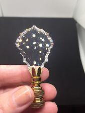 Swarovski Crystal Lamp Finial - New!  Dress Up Your Hous