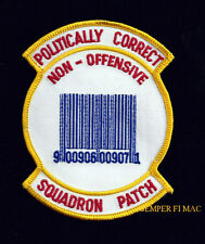 POLITICALLY CORRECT NON OFFENSIVE PATCH US ARMY MARINES NAVY AIR FORCE PIN UP
