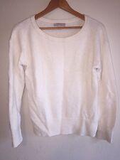 Banana Republic Acrylic/Wool/Alpaca Blend Cream Colored Pullover Sweater/L