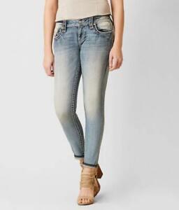 "ROCK REVIVAL ""JULEE"" Skinny Stretch Flap/Phone Pocket Jeans sz.25"