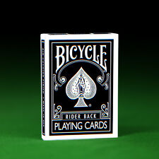 JLCC Black & White Playing Cards  - Genuine Bicycle + 2 Gaff Cards!
