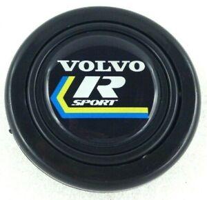 Volvo R Sport steering wheel horn push button. Fits Momo Sparco OMP Nardi Raid
