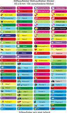 116 Namensaufkleber,Sticker,Stifteaufkleber,Motiv Schule,Kita,Kinder,Freizeit