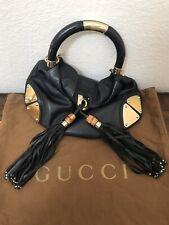Excellent Condition Gucci Indy/Hobo Plates Medium Size Handbag
