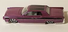 HOT WHEELS '64 LINCOLN CONTINENTAL 1/64 LOOSE NEVER PLAYED WITH SMALL CHIPS