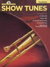 RRP 9.95 Show Tunes Instrumental Play-Along Trombone Sheet Music Book/CD