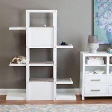 "Cat Tree Bookshelf  Kitty Condo Tower Scratcher 60"" Pet Wooden Furniture Large"