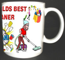 THE WORLDS BEST CLEANER MUG. LIMITED EDITION. GREAT GIFT *