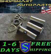JDM 2.25'' STAINLESS STEEL TEST PIPE 1994-2001 ACURA INTEGRA W/ 2.25 FLANGES CRX
